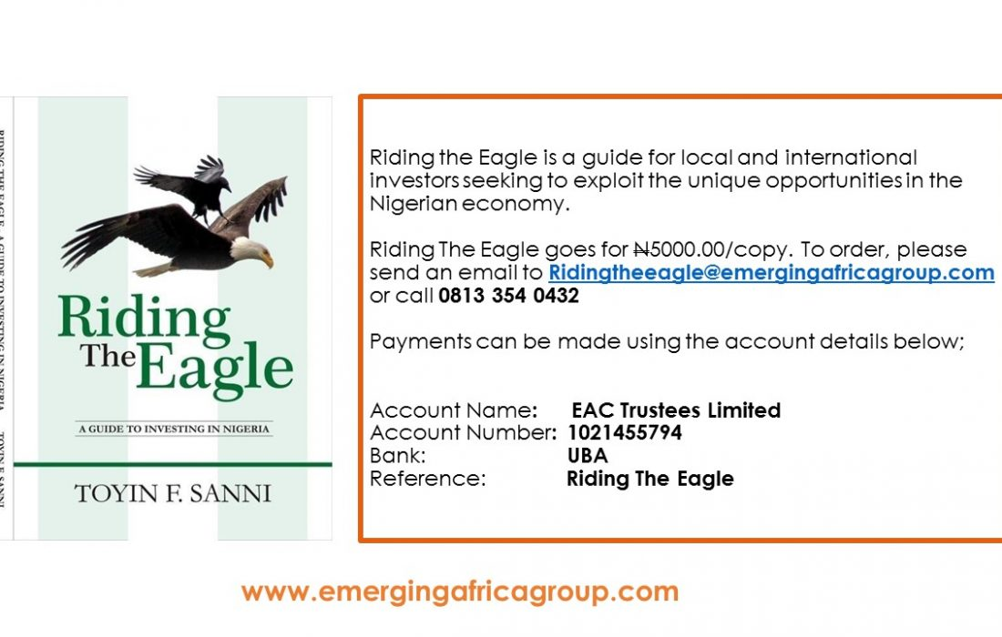 Riding the Eagle: A Guide To Investing In Nigeria - Emerging